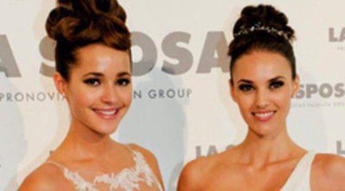 Malena Costa, Helen Lindes y Jessica Bueno se visten de novia para La Sposa