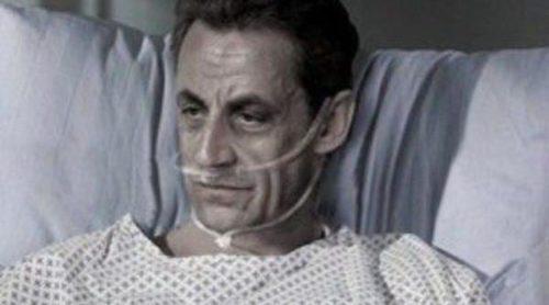 Nicolás Sarkozy, imagen de una polémica campaña publicitaria sobre la eutanasia