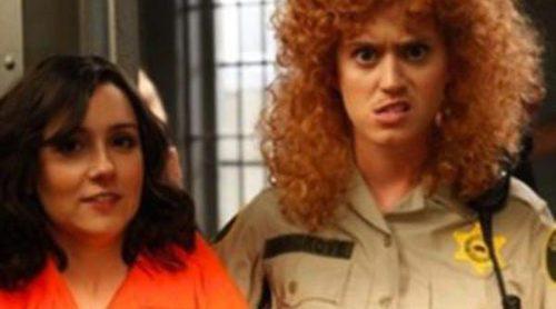Katy Perry, con bigote y pelo cardado en su nueva aparición en televisión