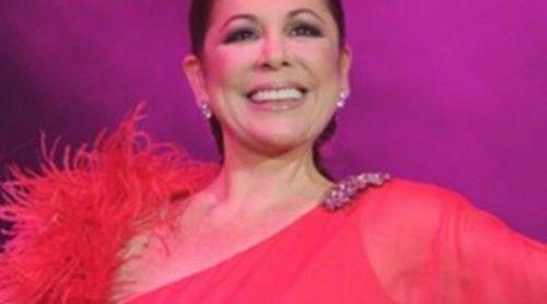 Isabel Pantoja celebra el cumpleaños de Luis Rollán tras ofrecer un concierto en Barcelona