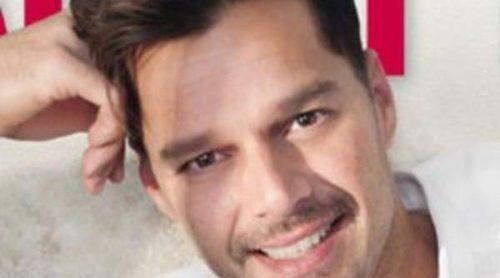Ricky Martin posa por primera vez con sus mellizos Matteo y Valentino y con su novio Carlos