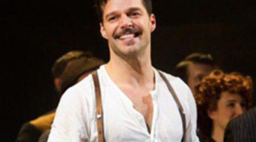 Vanessa Williams y Jesse Tyler Ferguson apoyan a Ricky Martin en el estreno del musical 'Evita' en Nueva York