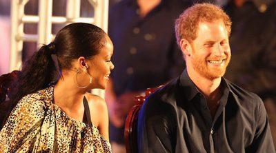 El Príncipe Harry y Rihanna, emocionados y encantados de conocerse en Barbados