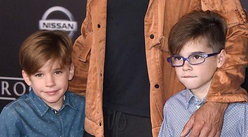 Ricky Martin y Jwan Yosef, dos enamorados en la primera alfombra de los hijos del cantante
