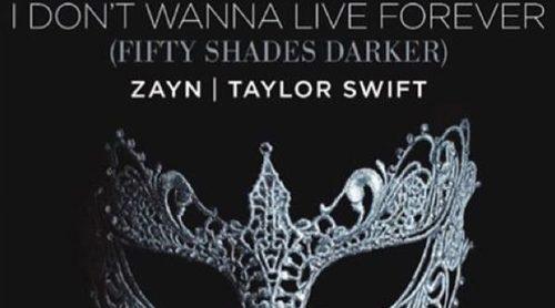 'I Do Not Wanna Live Forever', la canción que Taylor Swift y Zayn Malik aportan a 'Cincuenta sombras más oscuras'