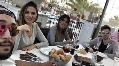 Paz y armonía antes de Navidad: Kiko Rivera e Irene Rosales comen con Chabelita y Alejandro Albalá