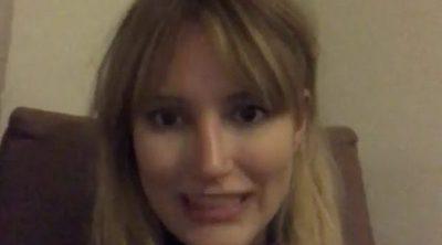 Alba Carrillo manda un mensaje desde Laponia para todos los que 'estáis contando mentiras'