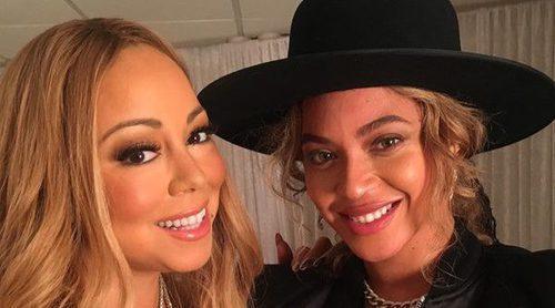 Encuentro entre dos divas: Beyoncé acude al concierto navideño de Mariah Carey