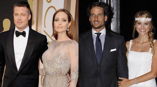 Brad Pitt y Angelina Jolie, Alba Carrillo y Feliciano López... Las rupturas de 2016
