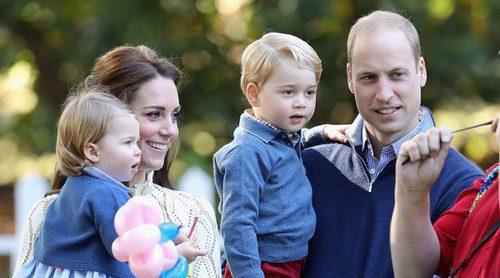 Los Duques de Cambridge y sus hijos Jorge y Carlota pasarán la Navidad lejos de Isabel II
