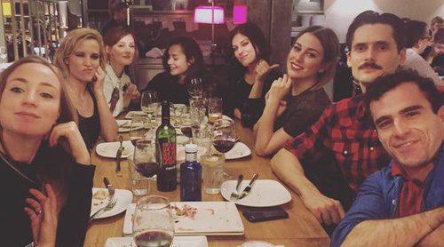 Blanca Suárez, Ana Polvorosa, Ana Fernández,...: 'Las chicas del cable' se van de cena navideña