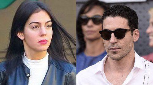 La novia de Cristiano Ronaldo, Georgina Rodríguez, de comida a solas con Miguel Ángel Silvestre