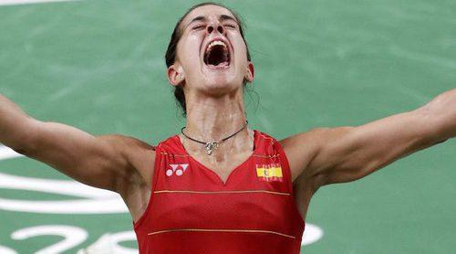 Carolina Marín, Cristiano Ronaldo o Simone Biles: 12 grandes deportistas de 2016