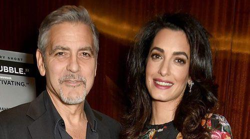 George Clooney y Amal Alamuddin reaparecen tras los rumores de embarazo