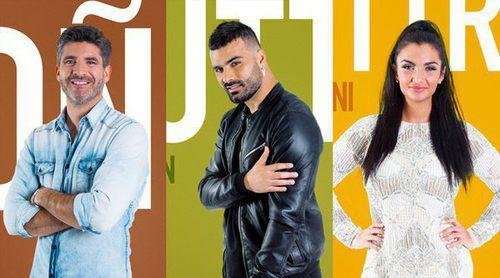 Toño Sanchís, Tutto Durán y Elettra Lamborghini son los primeros nominados de 'GH VIP 5'