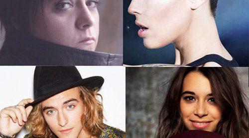 Así suenan los seis candidatos españoles para 'Eurovisión 17': LeKlein, Paula Rojo, Maika, Mario Jefferson...