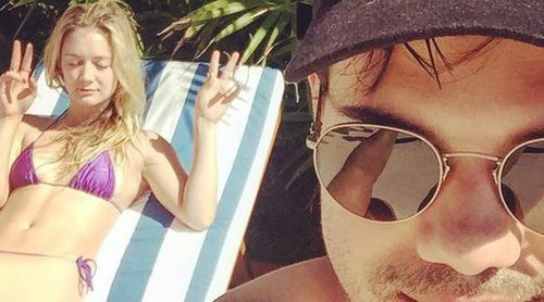 Taylor Lautner se lleva a Billie Lourd a México para superar la muerte de Carrie Fisher y Debbie Reynolds
