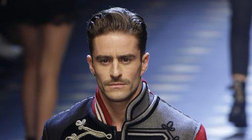 Pelayo Díaz, el influencer español sobre la pasarela de Dolce&Gabbana en Milán