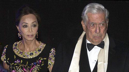 Isabel Preysler y Mario Vargas Llosa, invitados de honor de la fiesta de cumpleaños del embajador de EEUU