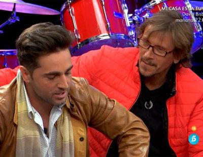 David Bustamante a Alejandro Abad en 'GH VIP 5': 'Vais a componer una canción, con esta no te vayas a enfadar'