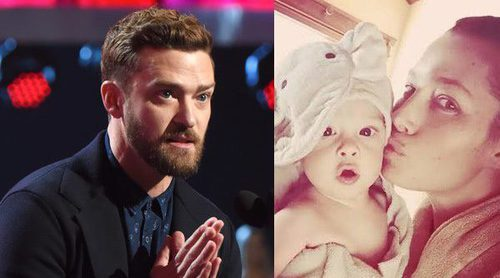 Las emotivas palabras de Justin Timberlake para Jessica Biel y Silas al recoger sus People's Choice Awards