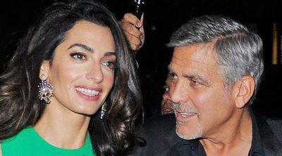 George Clooney y Amal Alamuddin serán padres de mellizos, un niño y una niña