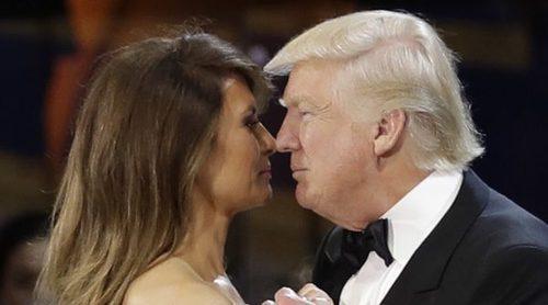 Donald y Melania Trump: amor y complicidad durante el baile inaugural de la presidencia