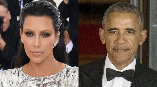 Kim Kardashian, Kanye West y su hija North se despiden de Barack Obama tras dejar la presidencia