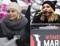 Scarlett Johansson, Charlize Theron o Madonna entre las asistentes a la Marcha de las Mujeres