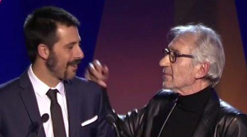 Un empate hace que José Sacristán y Hugo Silva se lleven el premio a Mejor actor de reparto de serie