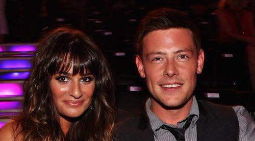 Lea Michele recuerda una vez más a Cory Monteith con una romántica foto de 2012
