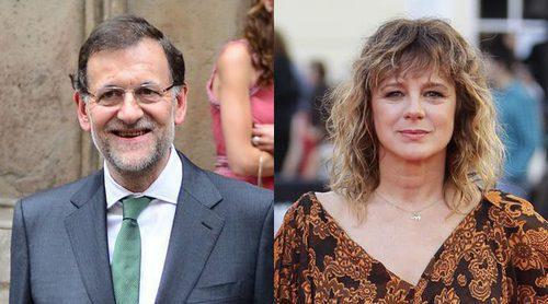 Emma Suárez lanza un mensaje a Mariano Rajoy: 'Igual se siente identificado con 'El hombre de las mil caras'