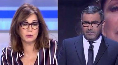 Ana Rosa Quintana apoya a Jorge Javier Vázquez tras su reproche a Isabel Pantoja: