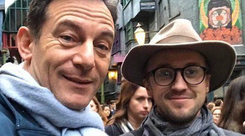 Reencuentro 'Harry Potter': Jason Isaacs y Tom Felton vuelven a reunirse tras dar vida a los Malfoy