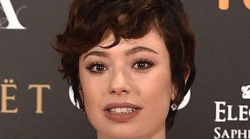 Anna Castillo, espontánea y emocionada al ganar el Goya 2017 a Mejor Actriz Revelación