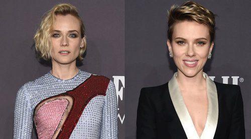Scarlet Johansson, Donatella Versace, Naomi Campbell y Diane Kruger se ponen solidarias en la Gala amfAR 2017