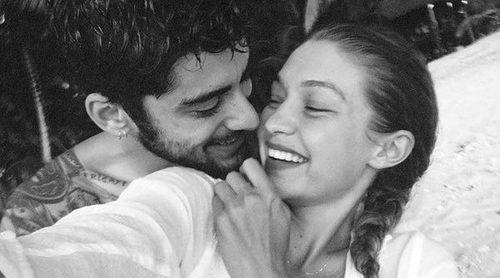 Gigi Hadid habla sobre la conexión que hubo en la primera cita que tuvo con su novio Zayn Malik
