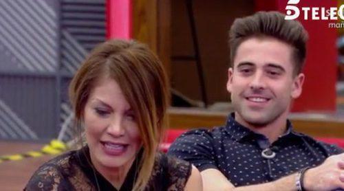 Sergio Ayala pide a Ivonne Reyes tener 'una historia sin final dentro o fuera de 'GHVIP 5''