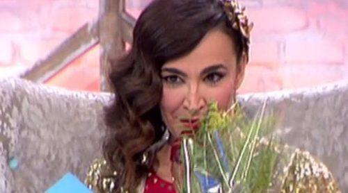 Cristina Rodríguez, muy emocionada al recibir un mensaje de amor y un regalo de su novio por San Valentín