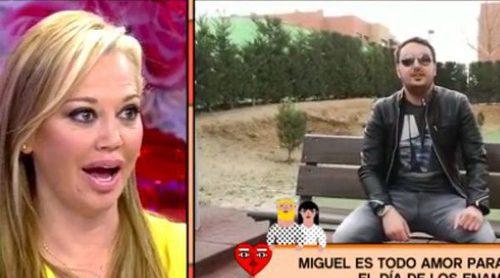Belén Esteban, sorprendida por su novio Miguel con un bonito vídeo en San Valentín