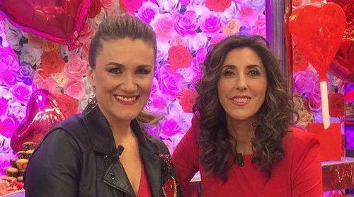 Carlota Corredera y Paz Padilla reivindican su buena relación por San Valentín
