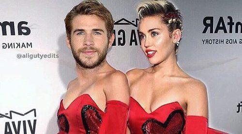 'Comparten ropa': Así le sienta a Liam Hemsworth uno de los vestidos de Miley Cyrus