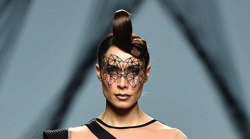 Pilar Rubio se sube a la pasarela de Madrid Fashion Week desfilando para Maya Hansen
