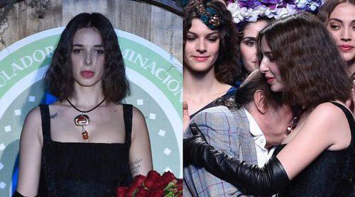 El emotivo homenaje de Lucía a su hermana Bimba Bosé sobre la Madrid Fashion Week con Francis Montesinos