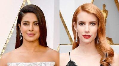 Emma Roberts, Scarlett Johansson, Karlie Kloss y Priyanka Chopra brillan en la alfombra roja de los Oscar 2017