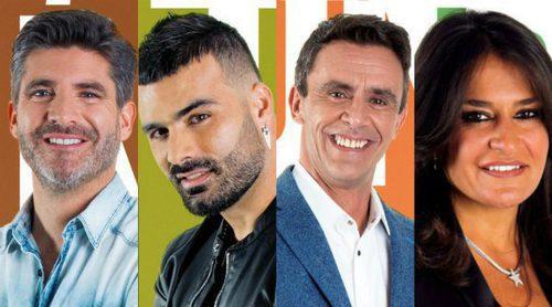 'GH VIP 5': Toño Sanchís, Tutto Durán, Alonso Caparrós y Aída Nízar luchan por la repesca tras el descarte de Aless Gibaja