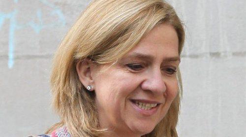 La Infanta Cristina, todo sonrisas en sus primeras imágenes tras la sentencia del Caso Nóos