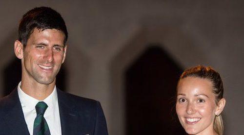 Novak Djokovic recibe una increíble bronca en pleno directo por parte de su mujer Jelena Ristic