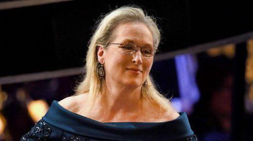 Meryl Streep viste de Elie Saab en los Oscar 2017 tras su polémica con Karl Lagerfeld