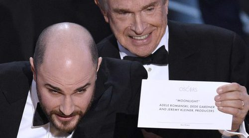 La consultora de los Oscar pide disculpas por entregar erróneamente el premio de Mejor película a 'La La Land'